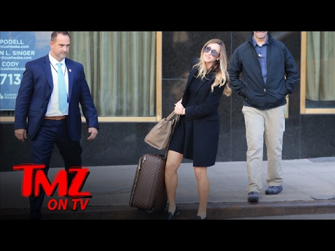 Eric Trump's Prego Wife- Secret Service Isn't Full Service. | TMZ TV