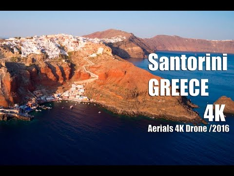 Santorini Greece in 4K | Aerials 4K Drone /2016