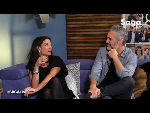 Natalia Jiménez con Adela Micha y Juan Pablo Medina / #SagaLive
