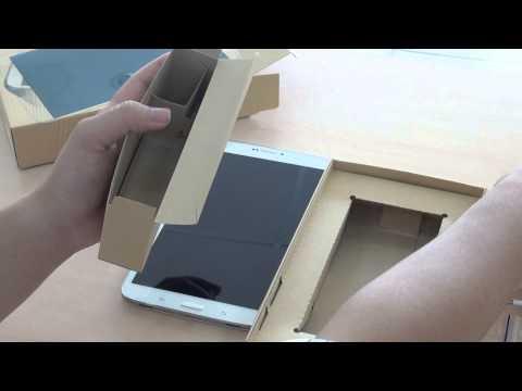 Đập hộp Samsung Galaxy Tab 3 8.0