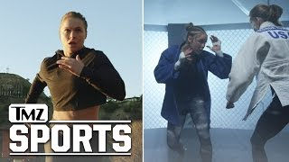Ronda Rousey Heard The Critics... WATCH ME PROVE YOU WRONG | TMZ Sports