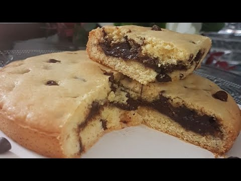 recette-cake-factory-tefal- -maxi-cookie-🍪-au-chocolat-ultra-fondant
