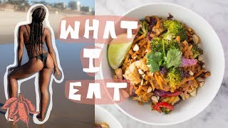 What I Eat in a Day to GET FIT & LOSE WEIGHT (100% VEGAN)