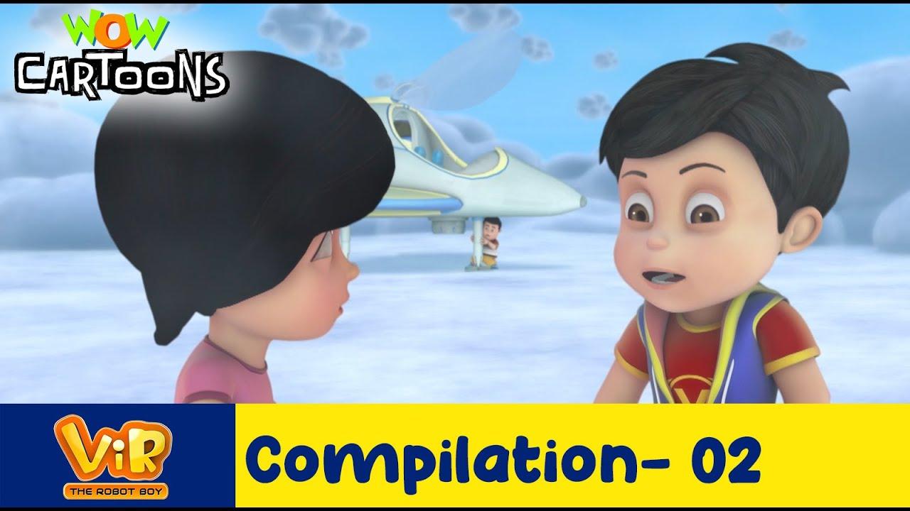Vir the robot boy | Action Cartoon Video | New Compilation - 02 | Kids Cartoons | Wow Cartoons