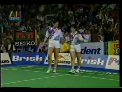 Final Uber Cup di Jakarta - Indonesia VS China @ ANteve/TVRI 21 Mei 1994 (Part 4)