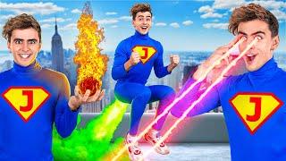 СУПЕРСИЛЫ НА 24 ЧАСА || Я стал супергероем! Самые смешные моменты от 123 GO! CHALLENGE