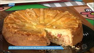 Fabíola Gadelha mostra ex-ambulante que fatura R$ 350 mil vendendo tortas