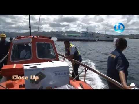 CLOSE UP -  FIJI CUSTOMS SHIP RUMMAGE 20/04/2014