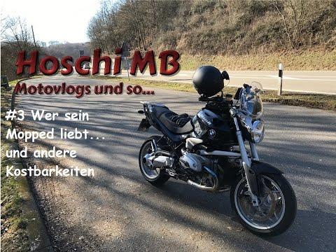 MotoVlog #3 Wer sein Mopped liebt... / BMW R1200 R