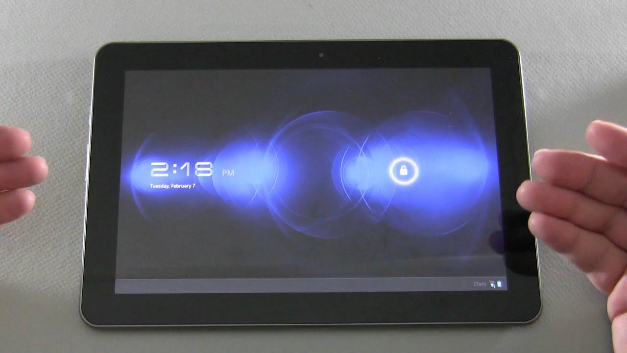 Tablet Update