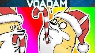 Hilarious Corgli & Co Comic Dub!  (Christmas Comic Dubs) [VOAdam Comic Dubs]