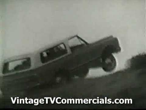 Vintage 1970 Chevy Blazer Jay Silverheels Lone Ranger TV Commercial