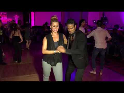 MAYKEL FONTS  & JORJET  ALCOCER MAMBO DANCE  @ SEATTLE SALSA CONGRESS 2016
