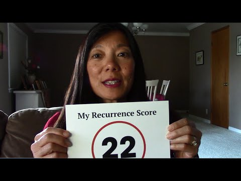 Do You Know Your Oncotype Dx Recurrence Score Meet Angela Youtube