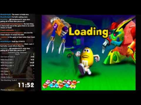 M&M's Shell Shocked Any% Speed Run in 1:23:04