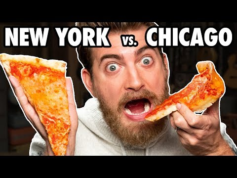 DJ MoonDawg - Chicago vs NY Style Pizza battle....you know who we are picking!