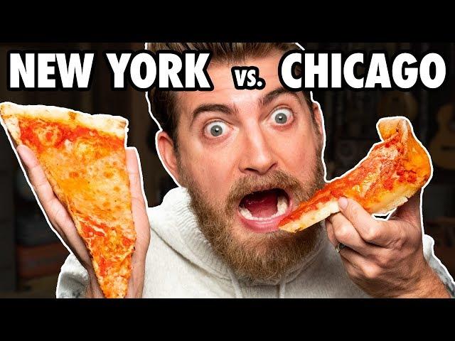 Ultimate Pizza Styles Taste Test