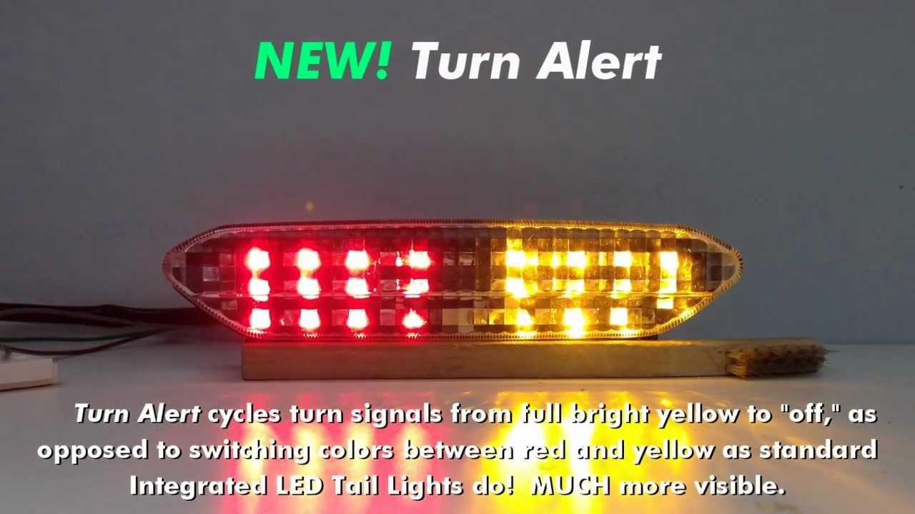Custom Led Yamaha Stryker Blaster-x Led Tail Light
