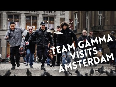 Team Gamma Visits Amsterdam