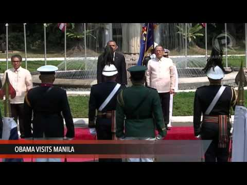 Official arrival ceremony for Obama
