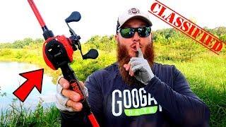 **TOP SECRET** Bass Fishing Gear (Never Seen Before!)