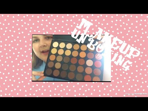 MORPHE 350 UNBOXING!! BEAUTY BAY ORDER ♥️