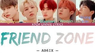 AB6IX (에이비식스) – Friend Zone (Color Coded Lyrics Han/Rom/Eng/가사)