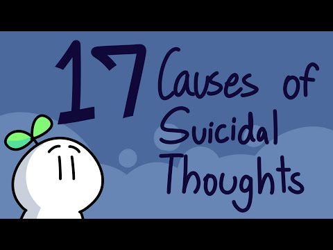 Suicidal Thoughts – 17 Things That Contribute To It