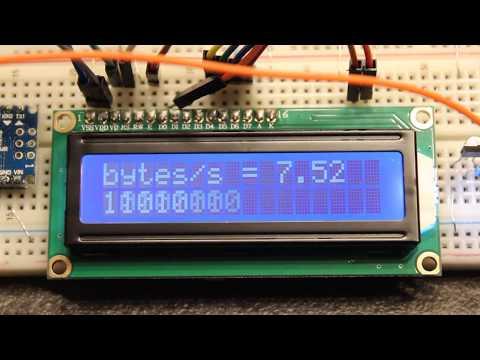 Arduino Hardware True Random Number Generator. Clock Drift Sampling