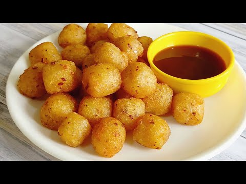 Potato Bites | Crispy Garlic Potato Bites | Snacks Recipe | Potato Recipe | McCain
