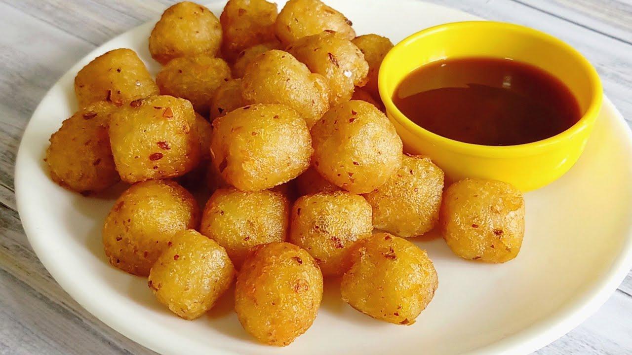 Potato Bites | Crispy Garlic Potato Bites | Snacks Recipe | Potato Recipe | McCain