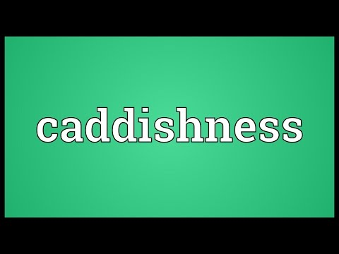 Header of caddishness