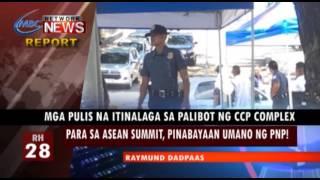MGA PULIS NA ITINALAGA SA PALIBOT NG CCP COMPLEX PARA SA ASEAN SUMMIT, PINABAYAAN UMANO NG PNP!   RH
