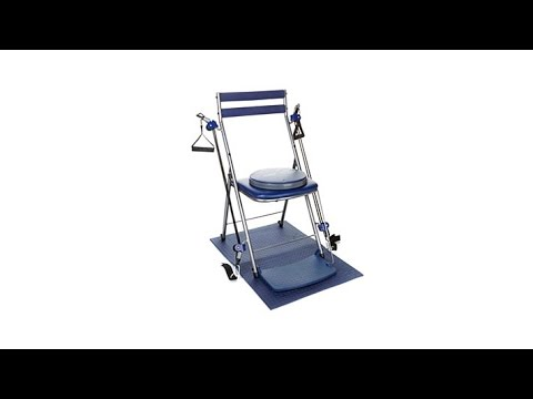 Chair Gym System With Twister Seat Ball And Dvds Youtube