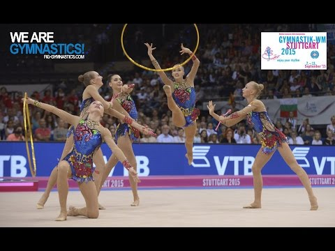 FULL REPLAY: 2015 Rhythmic Worlds, Stuttgart (GER) - Group Event Finals