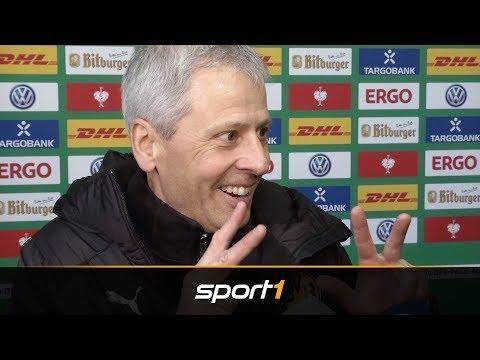 Nach Elfer-Drama: Favre scherzt über Pokal-Pleite des BVB | SPORT1