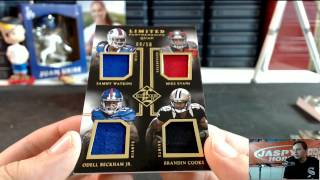 7/15/15 - 2014 Panini Limited Football 15-Box Case Break #7 EBAY Pick-Your-Team