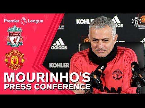 Jose Mourinho's Press Conference | Liverpool v Manchester United | Premier League Mp3