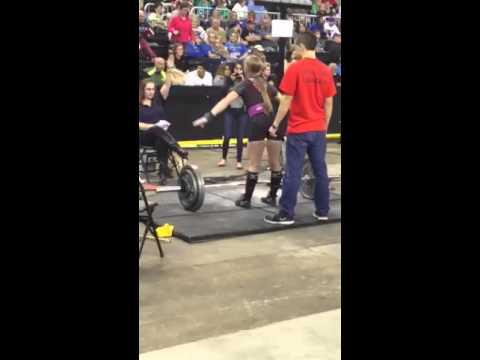 Girls Powerlifting Maddie Graham