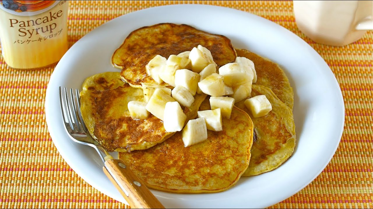 2 ingredient banana pancakes flour less high protein 2 2 ingredient banana pancakes flour less high protein 2 ochikeron create eat happy youtube ccuart Image collections