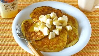 2-ingredient Banana Pancakes (flour-less High-protein) 材料2つでバナナパンケーキ - Ochikeron - Create Eat Happy