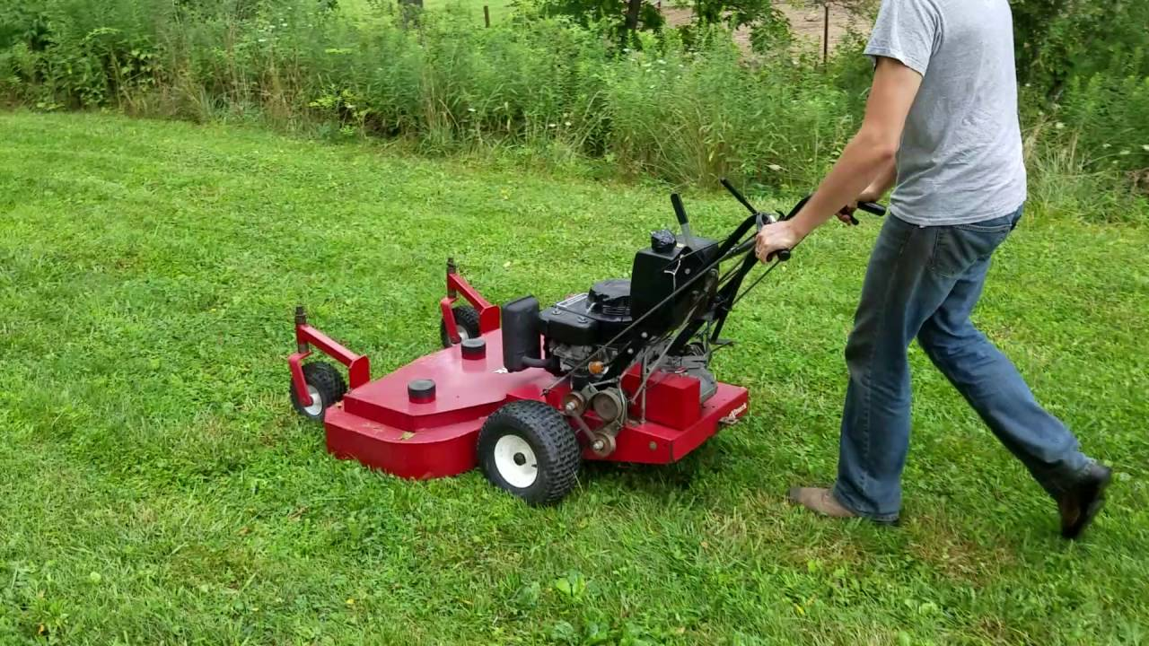 Exmark 48 walk behind lawn mower for sale w kawasaki for Lawn tractor motors for sale