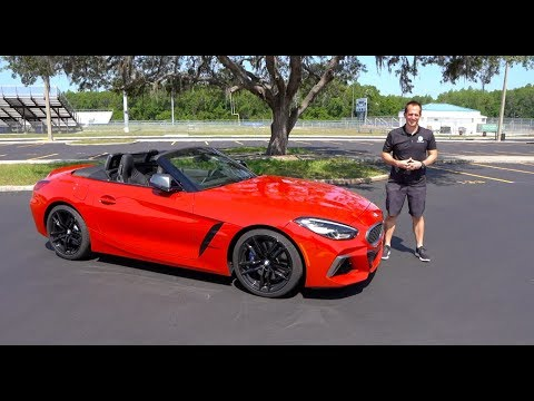 is-the-2020-bmw-z4-m40i-just-a-2020-toyota-supra-convertible?