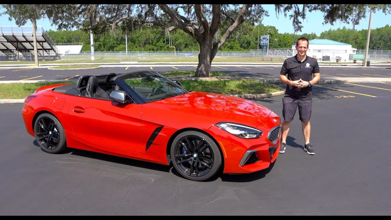 Is The 2020 Bmw Z4 M40i Just A 2020 Toyota Supra