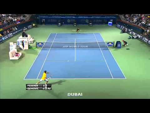 Djokovic vs Federer Dubai 2011 Final HD