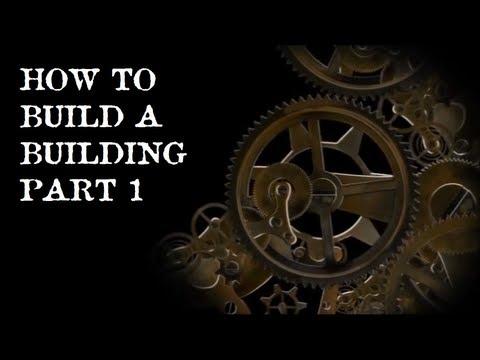 Scratch Building a Building Part 1