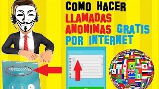 Como Hacer LLAMADAS a Celulares ANONIMAS por Internet GRATIS – LLamadas internacionales SIN SALDO