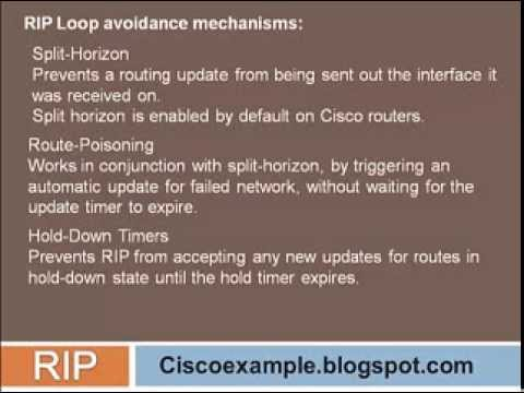 Introduction to RIP (Routing information protocol) - Ciscoexample.blogspot.com