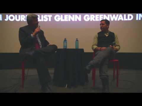 Glenn Greenwald Q&A in Tucson