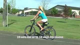 X-Treme Folding Electric Bicycle Model X-Cursion